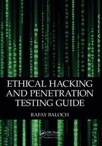Ethical Hacking and Penetration Testing Guide (Paperback)-cover