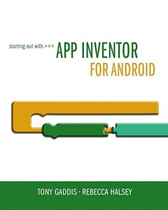 Starting Out With App Inventor for Android Paperback-cover