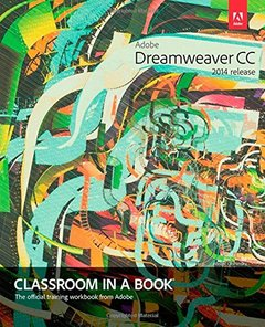 Adobe Dreamweaver CC Classroom in a Book (2014 release) Paperback-cover
