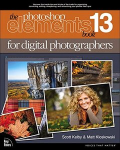 The Photoshop Elements 13 Book for Digital Photographers (Voices That Matter) Paperback-cover