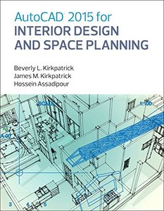 AutoCAD 2015 for Interior Design and Space Planning Paperback-cover