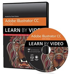 Adobe Illustrator CC Learn by Video (2014 release) DVD-ROM-cover
