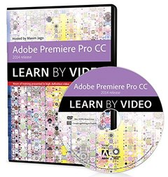 Adobe Premiere Pro CC Learn by Video (2014 release) DVD-ROM-cover