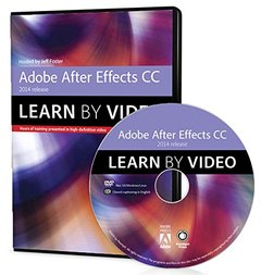 Adobe After Effects CC Learn by Video (2014 release) DVD-ROM-cover