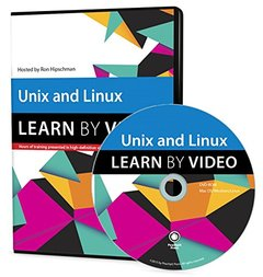 Unix and Linux: Learn by Video DVD-ROM-cover