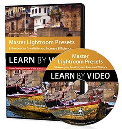 Master Lightroom Presets Learn by Video: Enhance your Creativity and Increase Efficiency DVD-ROM-cover