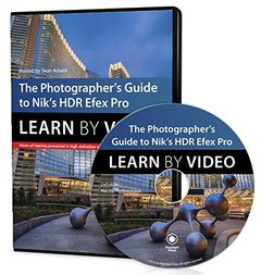 The Photographer's Guide to HDR Efex Pro: Learn by Video DVD-ROM-cover