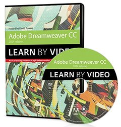 Adobe Dreamweaver CC Learn by Video (2014 release) DVD-ROM-cover