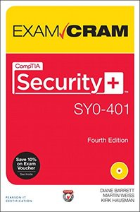 CompTIA Security+ SY0-401 Exam Cram, 4/e(Paperback)