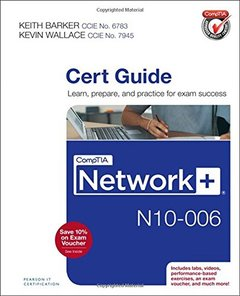 CompTIA Network+ N10-006 Cert Guide Hardcover-cover