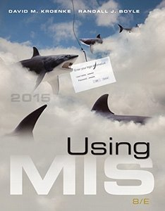 Using MIS, 8/e(Paperback)-cover