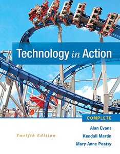 Technology In Action Complete (12th Edition) Paperback-cover