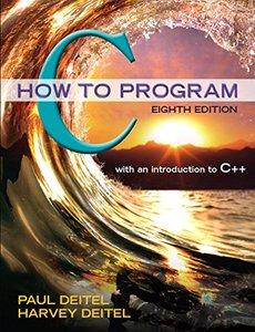 C How to Program, 8/e(Paperback)
