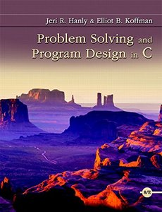 Problem Solving and Program Design in C, 8/e(Paperback)-cover