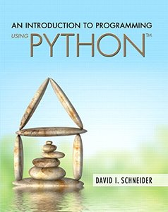 An Introduction to Programming Using Python Paperback-cover