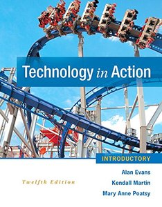 Technology In Action Introductory (12th Edition) Paperback-cover