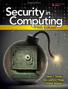 Security in Computing (Hardcover) 5/e 美國原版-cover