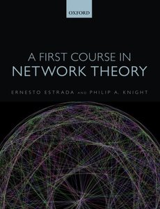 A First Course in Network Theory (Paperback)-cover