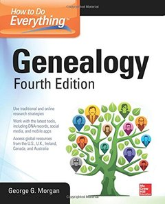 How to Do Everything: Genealogy, Fourth Edition Paperback-cover
