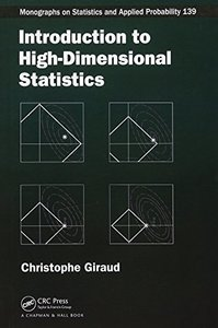 Introduction to High-Dimensional Statistics (Chapman & Hall/CRC Monographs on Statistics & Applied Probability) Hardcover-cover