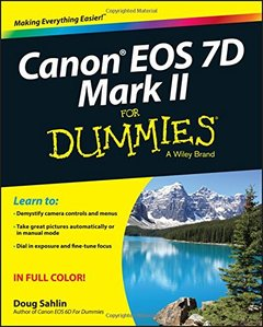 Canon EOS 7D Mark II For Dummies Paperback-cover
