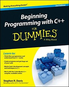 Beginning Programming with C++ For Dummies Paperback-cover