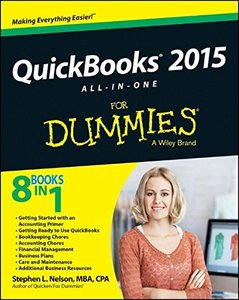 QuickBooks 2015 All-in-One For Dummies (For Dummies (Computer/Tech)) Paperback-cover