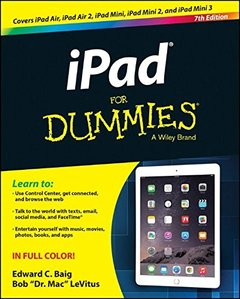 iPad For Dummies Paperback-cover