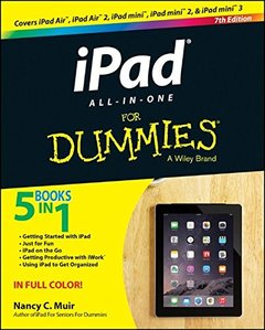 iPad All-in-One For Dummies Paperback-cover