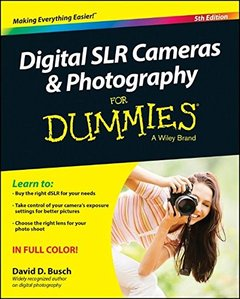 Digital SLR Cameras and Photography For Dummies Paperback-cover