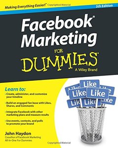 Facebook Marketing For Dummies Paperback-cover
