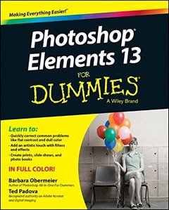 Photoshop Elements 13 For Dummies (For Dummies (Computer/Tech)) Paperback-cover