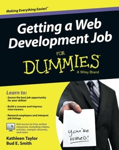 Getting a Web Development Job For Dummies Paperback-cover