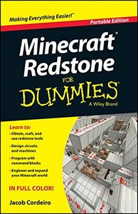 Minecraft Redstone For Dummies Paperback-cover