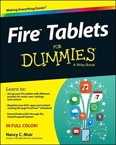 Fire Tablets For Dummies Paperback-cover