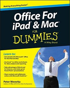 Office for iPad and Mac For Dummies Paperback-cover
