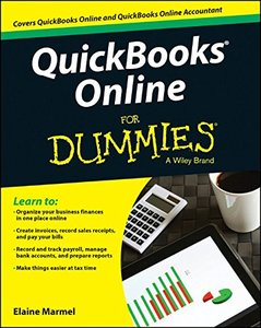 QuickBooks Online For Dummies Paperback-cover