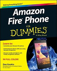 Amazon Fire Phone For Dummies Paperback-cover