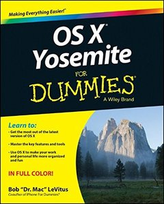 OS X Yosemite For Dummies Paperback-cover