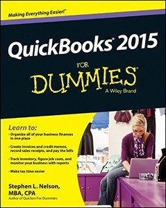 QuickBooks 2015 For Dummies Paperback-cover
