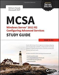 MCSA Windows Server 2012 R2 Configuring Advanced Services Study Guide: Exam 70-412 Paperback-cover
