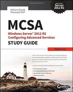 MCSA Windows Server 2012 R2 Configuring Advanced Services Study Guide: Exam 70-412 Paperback-cover