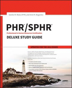 PHR / SPHR Professional in Human Resources Certification Deluxe Study Guide Hardcover-cover