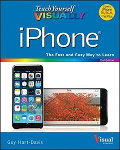 Teach Yourself VISUALLY iPhone (Teach Yourself VISUALLY (Tech)) Paperback-cover