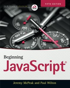 Beginning JavaScript, 5/e (Paperback)-cover