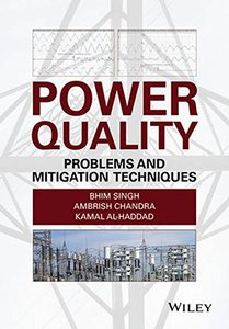 Power Quality: Problems and Mitigation Techniques Hardcover-cover