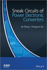 Sneak Circuits of Power Electronic Converters Hardcover-cover