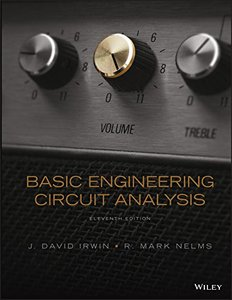 Basic Engineering Circuit Analysis Hardcover-cover