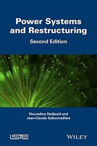 Power Systems and Restructuring (Iste) Hardcover-cover