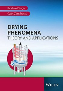 Drying Phenomena: Theory and Applications Hardcover-cover
